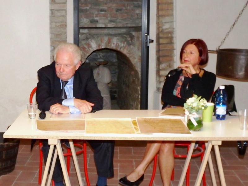 Ubaldo Delsante e Cristina Lucchini